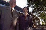 Zoon Kees en dochter Cor (onderwijzeres)