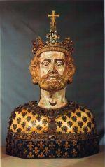 Een beeld van Karel de Grote
